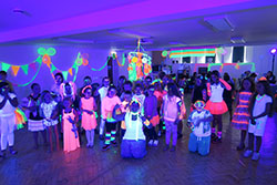 Children's Ultraviolet Neon Glow Party